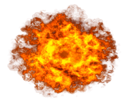 explosion circle fire png transparent