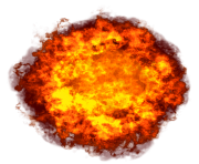 huge bowl fire png transparent