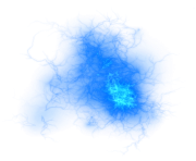 blue fire ball png transparent