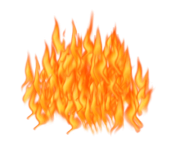 fire waves png transparent