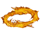 spiral of fire png transparent