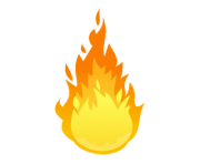 ball of fire png transparent