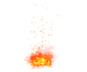 fire growing png transparent