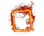 frame fire png transparent