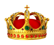 crown png red king