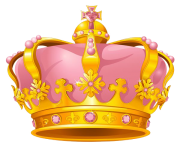 pink crown png for queen girl clip art