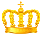 Gold Crown PNG Clipart