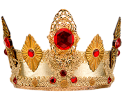 real fancy crown png red diamonds