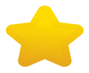 round star png image yellow