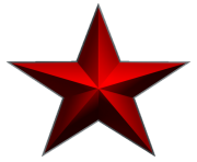 download png image red star png image 14
