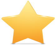 star png transparent backgorund 3d gold yellow
