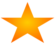 download png image star orange color