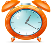 Cartoon Kid Alarm clock icon