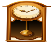 Antique Wall ClockPNG Clip Art