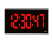 Red Digital Clock Png Transparent