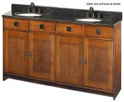 style furniture oak furniture calabasas double sink bathroom vanity m7FNYa clipart