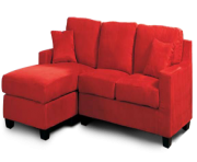 Red Sofa Furniture PNG File