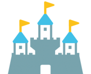 emoji android european castle