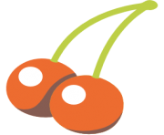 emoji android cherries