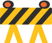 emoji android construction sign
