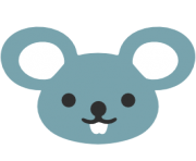 emoji android mouse face