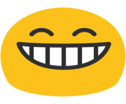 emoji android grinning face with smiling eyes
