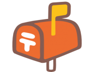 emoji android closed mailbox with raised flag