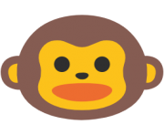 emoji android monkey face