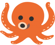 emoji android octopus