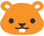 emoji android hamster face
