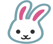 emoji android rabbit face