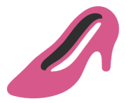 emoji android high heeled shoe