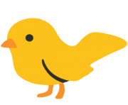 emoji android bird