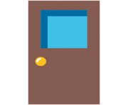 emoji android door