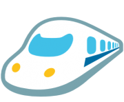 emoji android high speed train