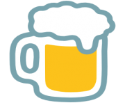 emoji android beer mug