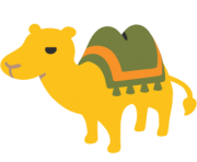 emoji android bactrian camel