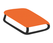 emoji android orange book