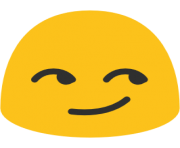 emoji android smirking face
