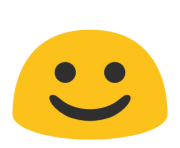 emoji android white smiling face