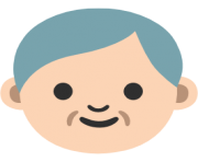 emoji android older man