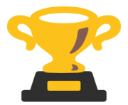 emoji android trophy