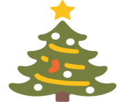 emoji android christmas tree