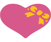 emoji android heart with ribbon