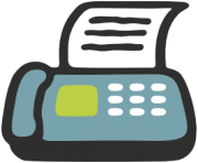 emoji android fax machine