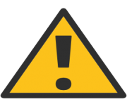 emoji android warning sign