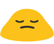 emoji android person frowning