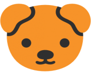 emoji android dog face