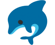 emoji android dolphin