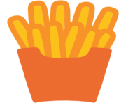 emoji android french fries